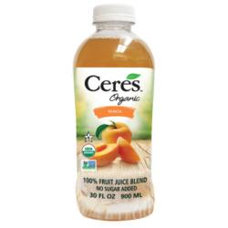 Ceres Organic 100% Fruit Juice Blend: Peach