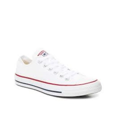 White Converse runners