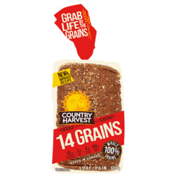 Country Harvest 14 Grains Bread