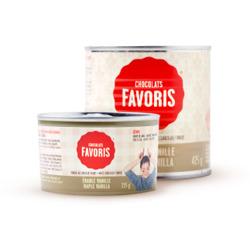 Chocolat favoris maple vanilla fondue