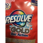 Resolve Gold Oxi-Action laundry powder