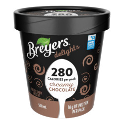 Breyers delights Creamy Chocolate