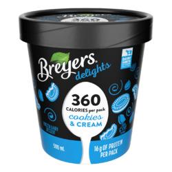 Breyers delights Cookies & Cream