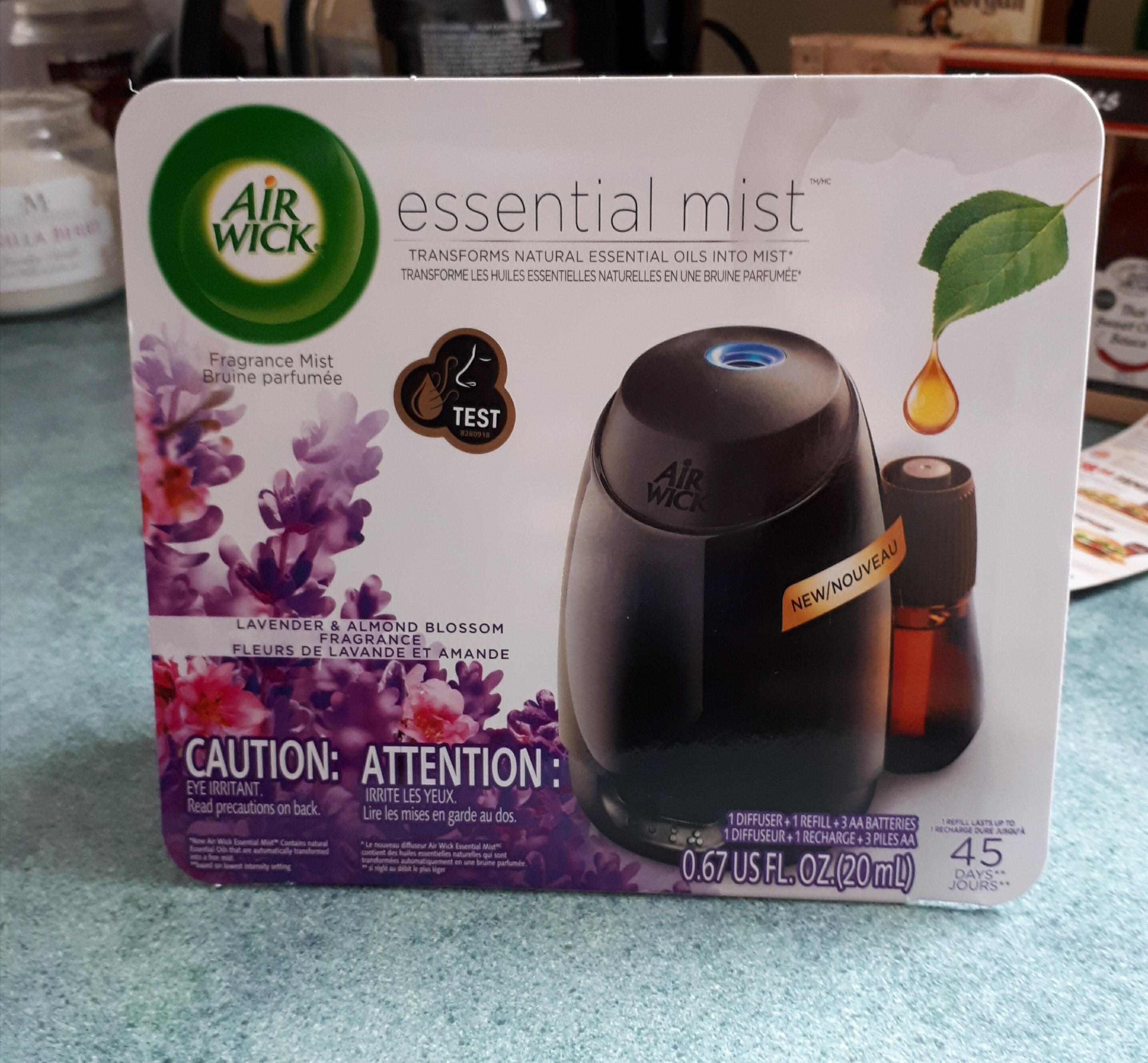 Air Wick Essential Mist Fragrant Mist Diffuser Reviews In