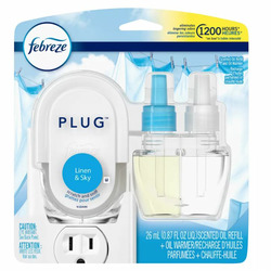 Febreeze plug in linen scent