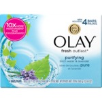 olay birch water and lavendar bar soap
