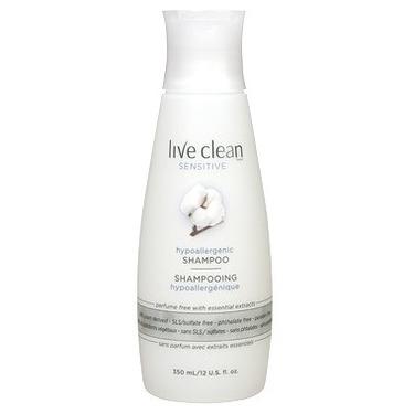 Live Clean Sensitive Hypoallergenic Shampoo