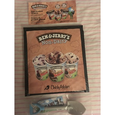 Ben & Jerry's Non-Dairy: Coconut Almond Fudge Chip
