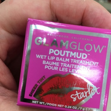 Glamglow Poutmud Sheer Tint Wet Lip Balm Treatment Goji Peptide Perfecting Cream - 1.7 oz. by Andalou Naturals (pack of 2)