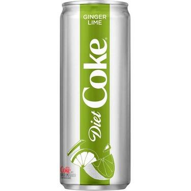 Diet Coke ginger lime