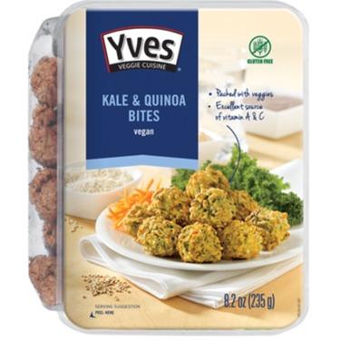 Yves Veggie Cuisine Kale & Quinoa Bites