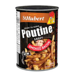 St Hubert smoked bacon poutine gravy