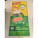 Glad Gain Drawstring Kitchen Bags
