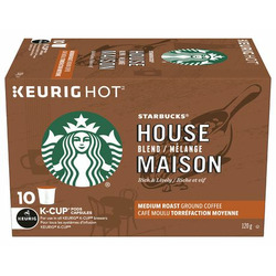 Starbucks House Blend K-Cup pods