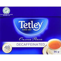 Tetley Decaffeinated Orange Pekoe