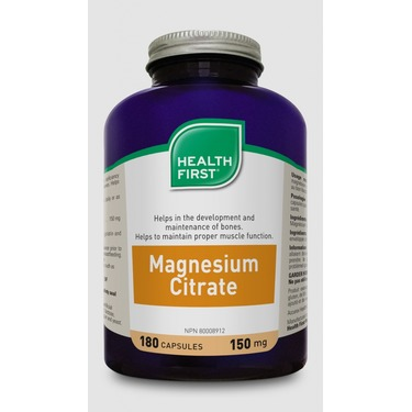 Health First Magnesium Citrate