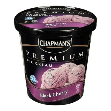 Champman's Premium ice cream Black cherry