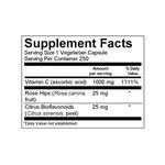 Viva Naturals Vitamin C with Bioflavonoids and Rose Hips