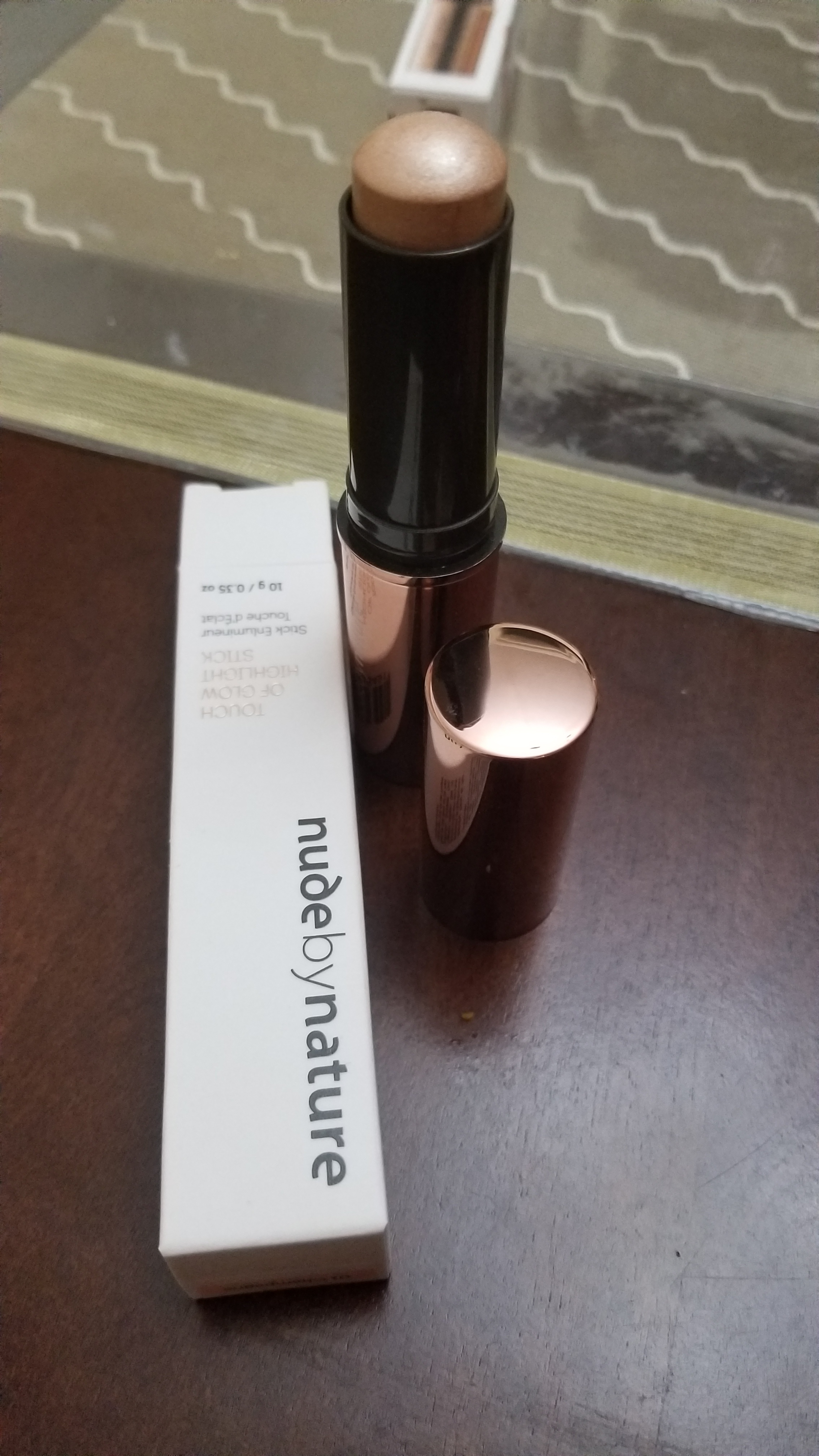 Touch of Glow Highlight Stick - Nude by Nature PL