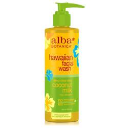 Alba Botanical hawaiian facial wash