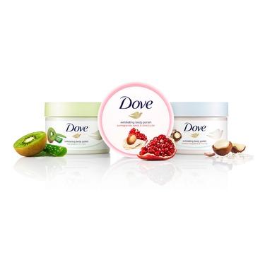 Dove Exfoliating Body Polish Crushed Macadamia & Rice Milk