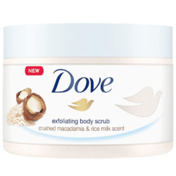 Dove Exfoliating Body Polish Crushed Macadamia & Rice Milk