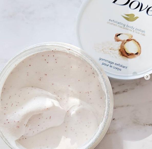 Dove Exfoliating Body Polish Crushed Macadamia Rice Milk Reviews In Body Scrub Exfoliants Chickadvisor
