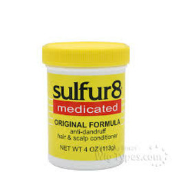 sulfur8 medicated anti-dandruff