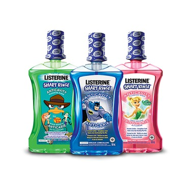 Listerine Smart Rinse Mouthwash