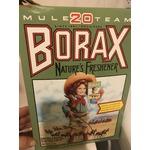 Borax laundry detergent
