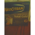 Neocitran extra strength total cold night honey lemon flavour