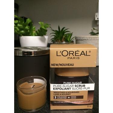 L'Oréal pure-sugar scrub