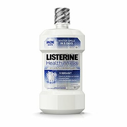 Listerine Healthy White Mouthwash Restoring