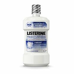 Listerine Healthy White Mouthwash Restoring