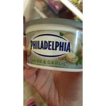 Philadelphia cream cheese herb and garlic