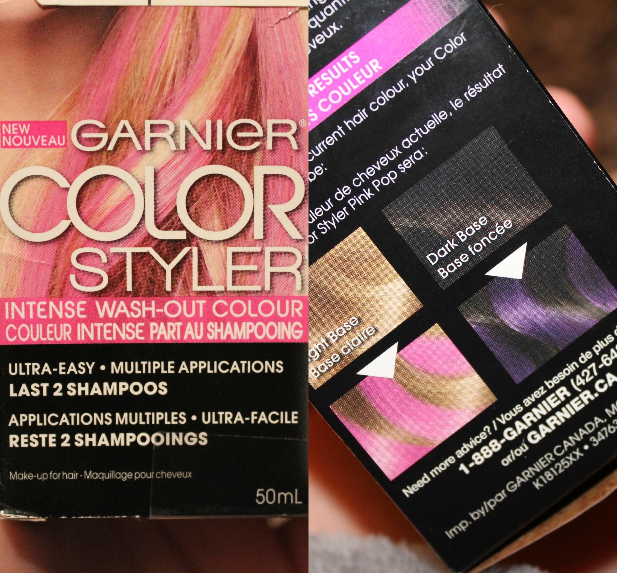 Garnier Color Styler Intense Wash Out Colour Reviews In Hair Colour