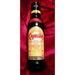 Kahlúa coffee flavoured liquor