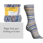 Schachenmayr Regia sock yarn