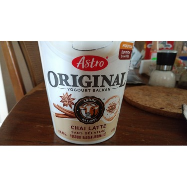 Astro Original Balkan Yogurt Chai Latte