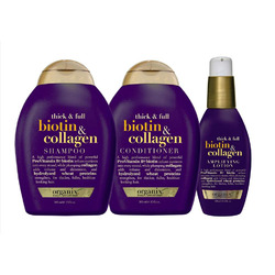 Organix Biotin and Collagen Shampoo and Conditioner