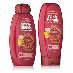 Garnier Whole Blends Cranberry & Argan Oil Colour Care Shampoo