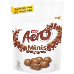 AERO Milk Chocolate Minis Reclosable Pouch