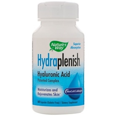 Nature's Way, Hydraplenish, Hyaluronic Acid, 60 Capsules