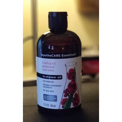 Apothecare essentials in-shower oil