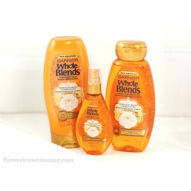 Garnier Whole Blends Moroccan Argan & Camelia Oils Shampoo and Conditioner