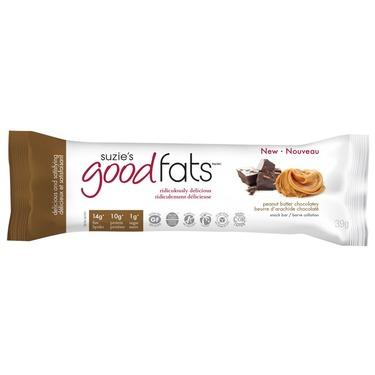 Suzie's Good Fats Coconut Chocolate Chip Snack Bar