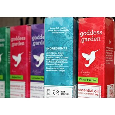 Goddess Garden Essential Oil Perfumes