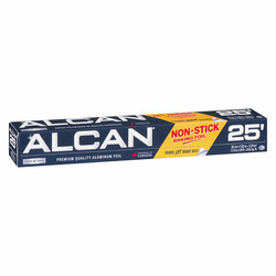 Alcan non-stick baking foil