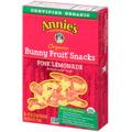 Annie's Bunny Fruit Snacks Pink Lemonade