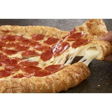 pizza hut stuffed crust